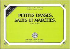 N°10 – Petites danses, sauts et marches pour piano – Prix : 7,40 CHF