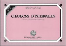N°2B – Chansons d'intervalles avec accompagnement au piano – Prix : 12,55 CHF