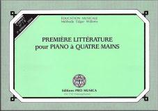 N°7B – Première littérature pour piano à quatre mains – Prix : 12,55 CHF