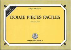 N°8 – Douze pièces faciles pour piano – Prix : 7,55 CHF