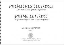 Premières lectures « Prima Vista » pour piano – Prix : 17,10 CHF